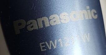 Panasonic EW1211W test